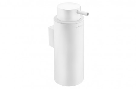 Dispensador para pared de baño Black & White 2516505 en acabado blanco mate de alta resistencia y larga durabilidad